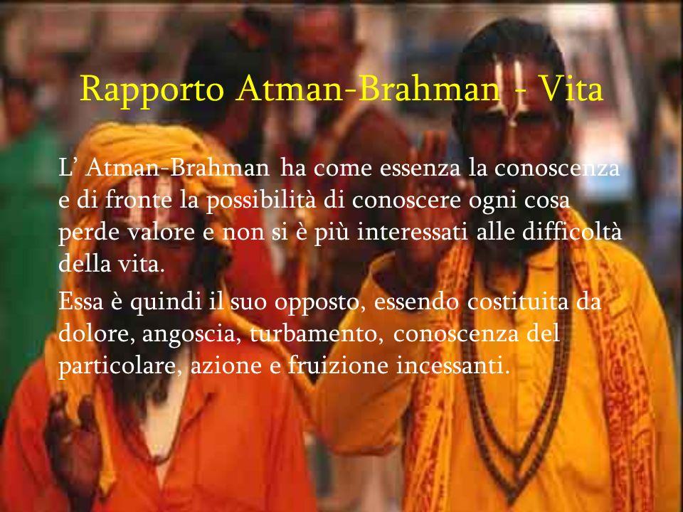 Rapporto Atman-Brahman - Vita