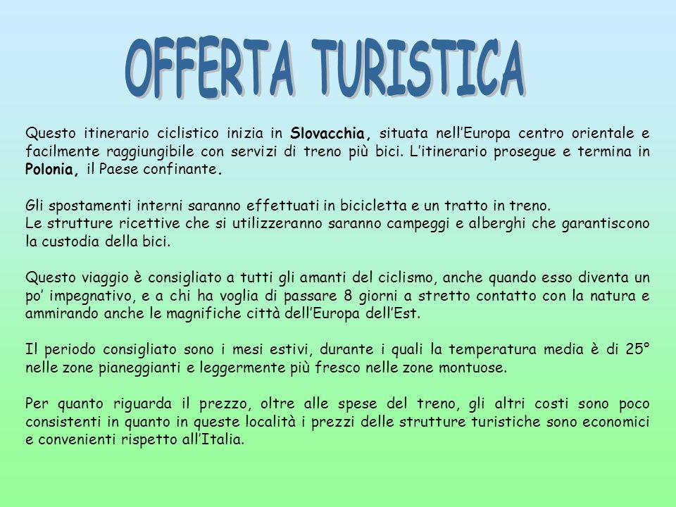 OFFERTA TURISTICA