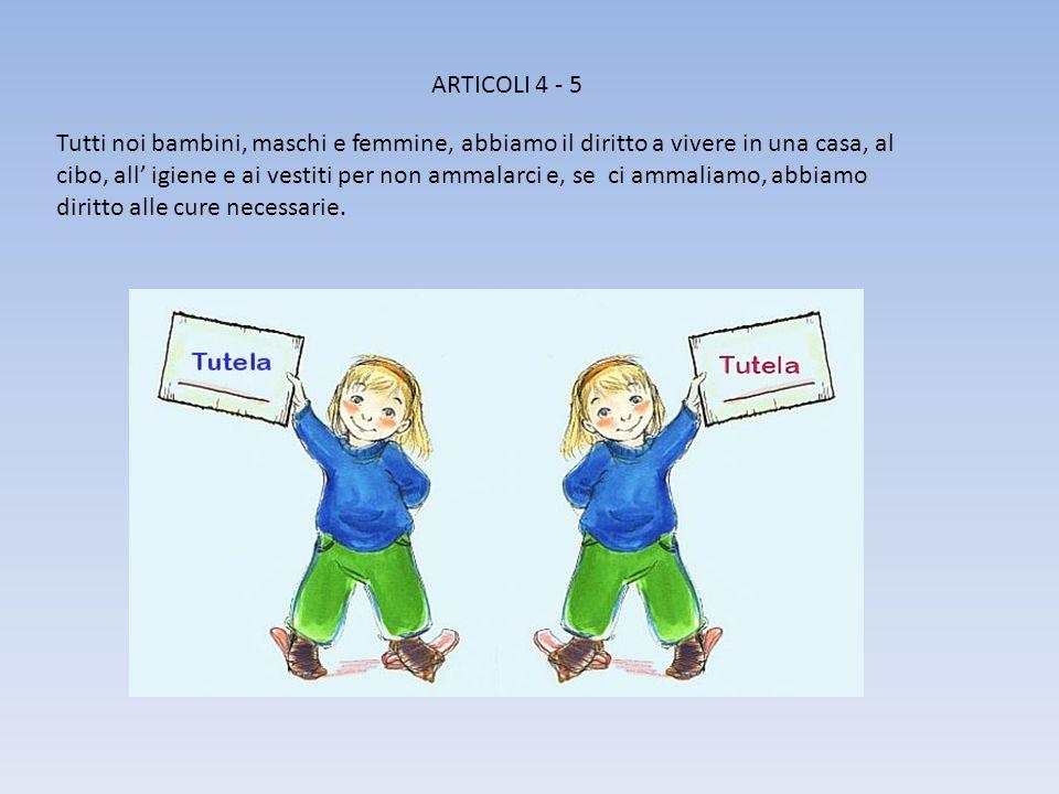 ARTICOLI 4 - 5