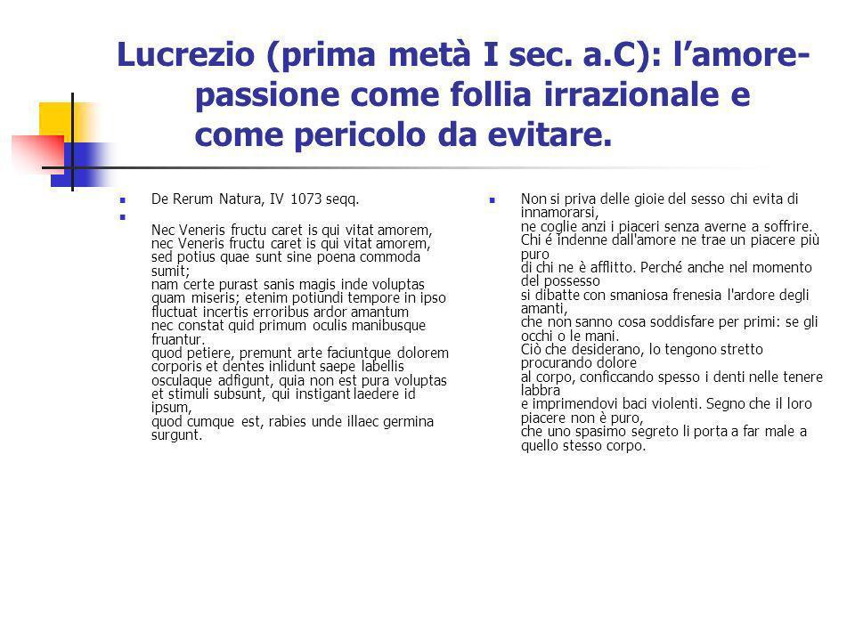 Lucrezio (prima metà I sec. a