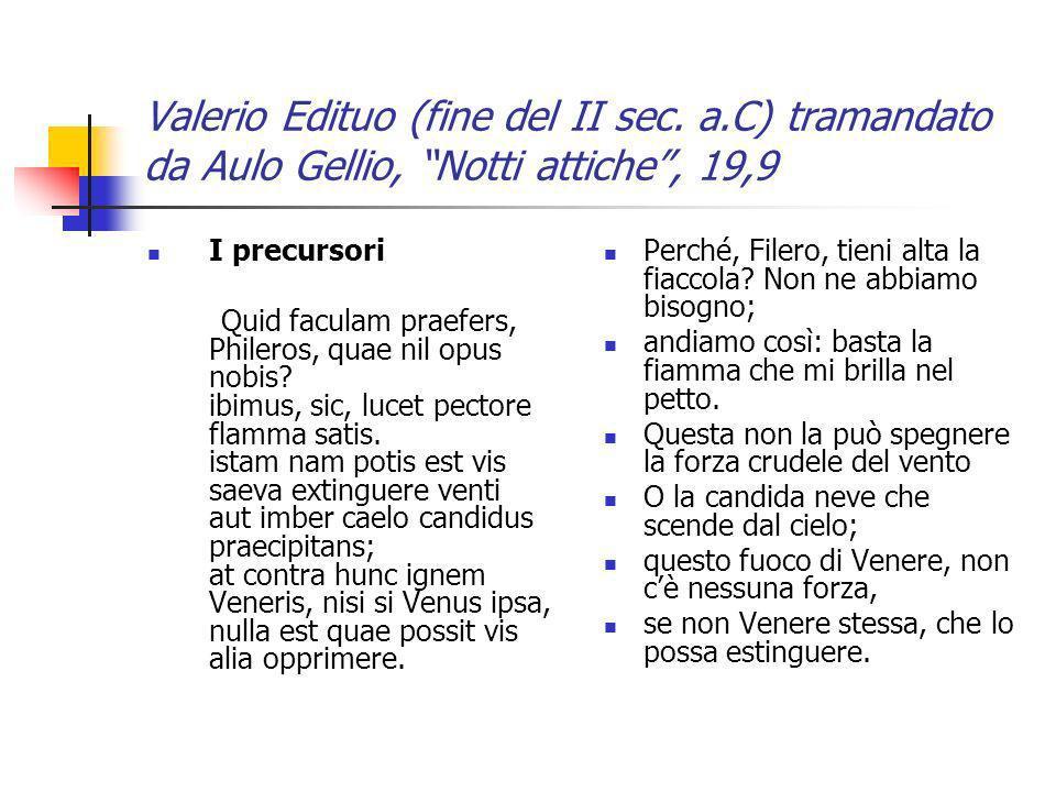 Valerio Edituo (fine del II sec. a