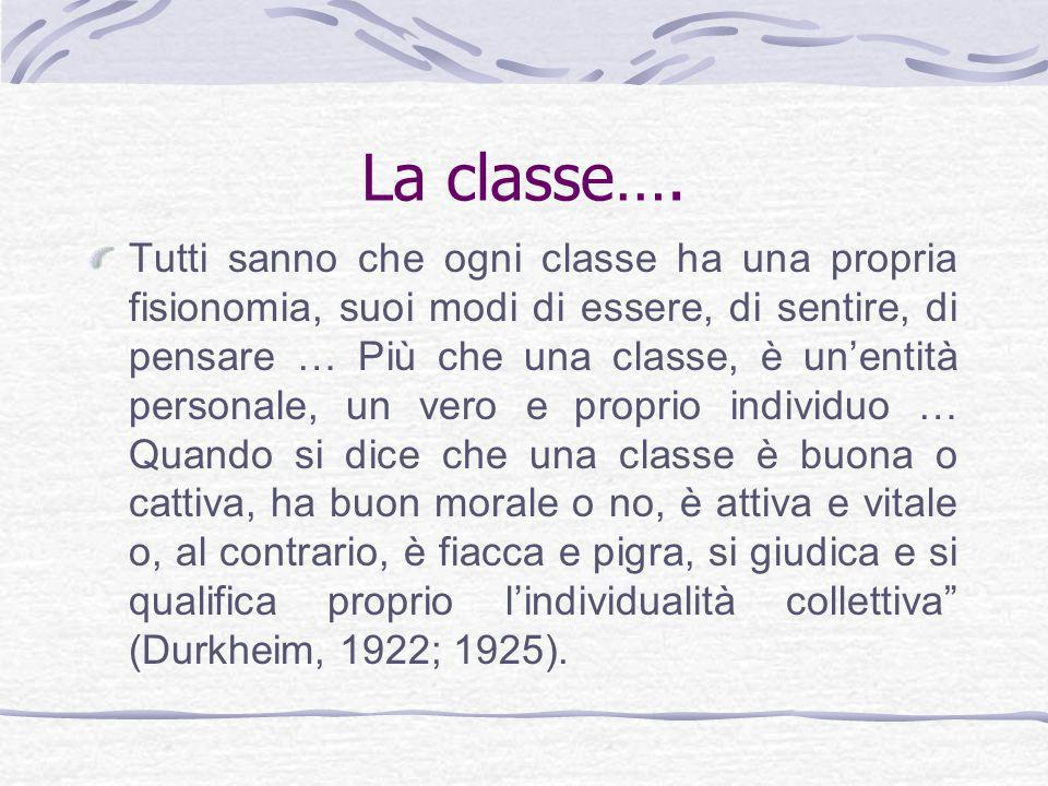 La classe….