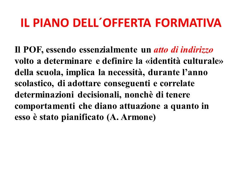IL PIANO DELL´OFFERTA FORMATIVA