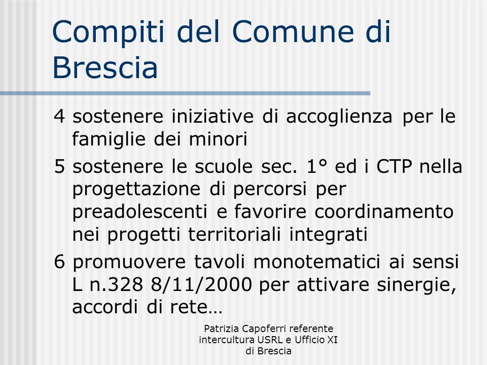 Compiti del Comune di Brescia