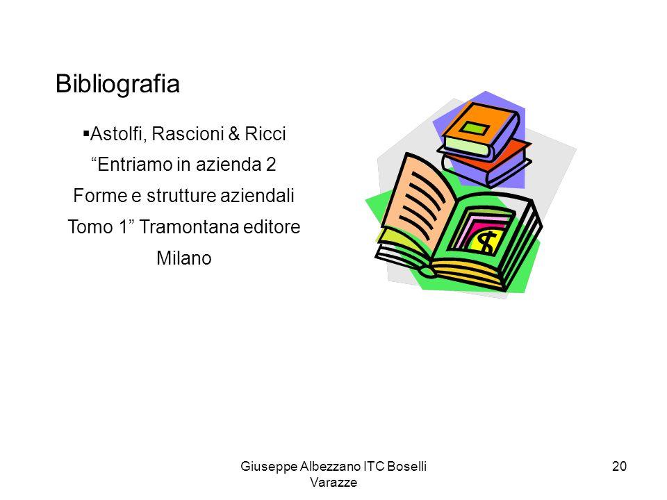 Bibliografia Astolfi, Rascioni & Ricci Entriamo in azienda 2