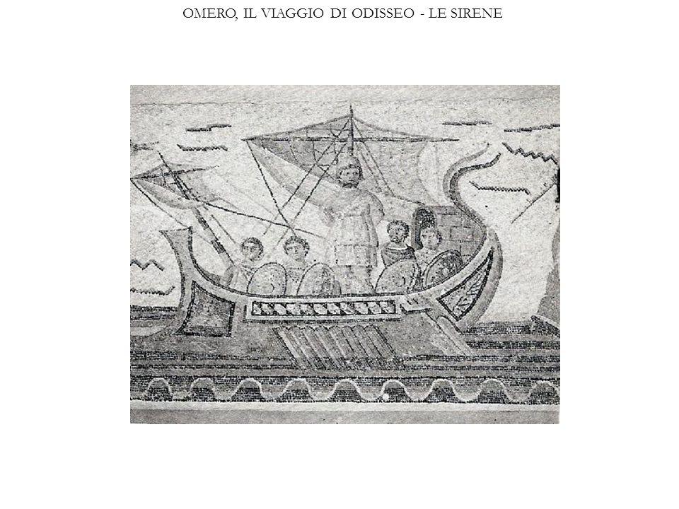 OMERO, IL VIAGGIO DI ODISSEO - LE SIRENE