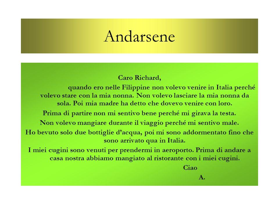 Andarsene Caro Richard,