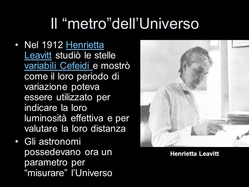 Il metro dell'Universo