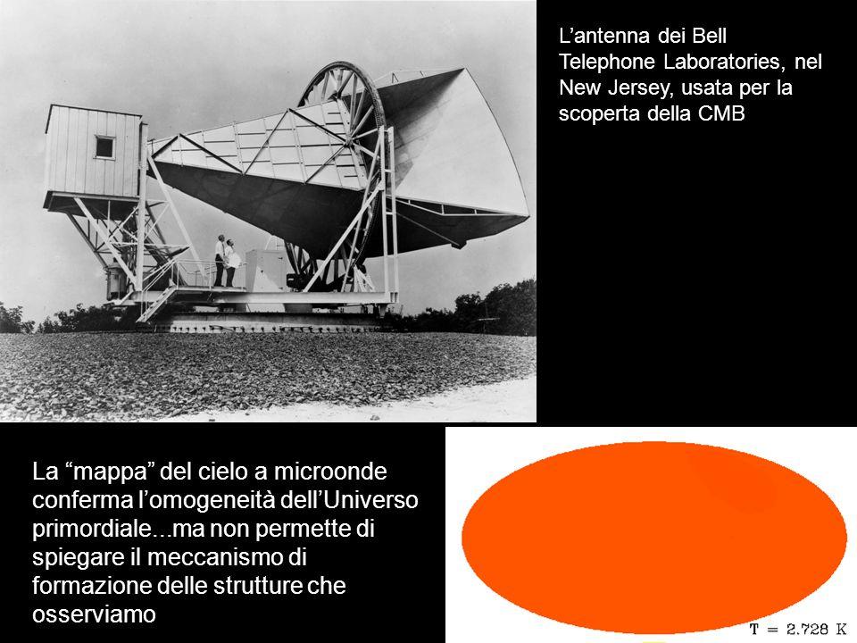 L'antenna dei Bell Telephone Laboratories, nel New Jersey, usata per la scoperta della CMB