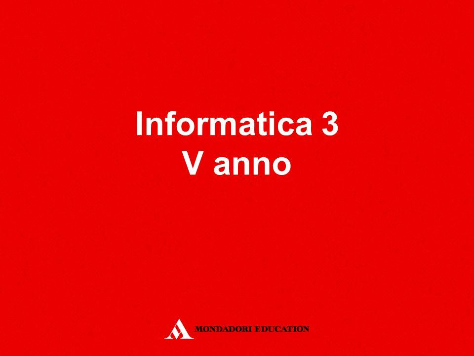 Informatica 3 V anno
