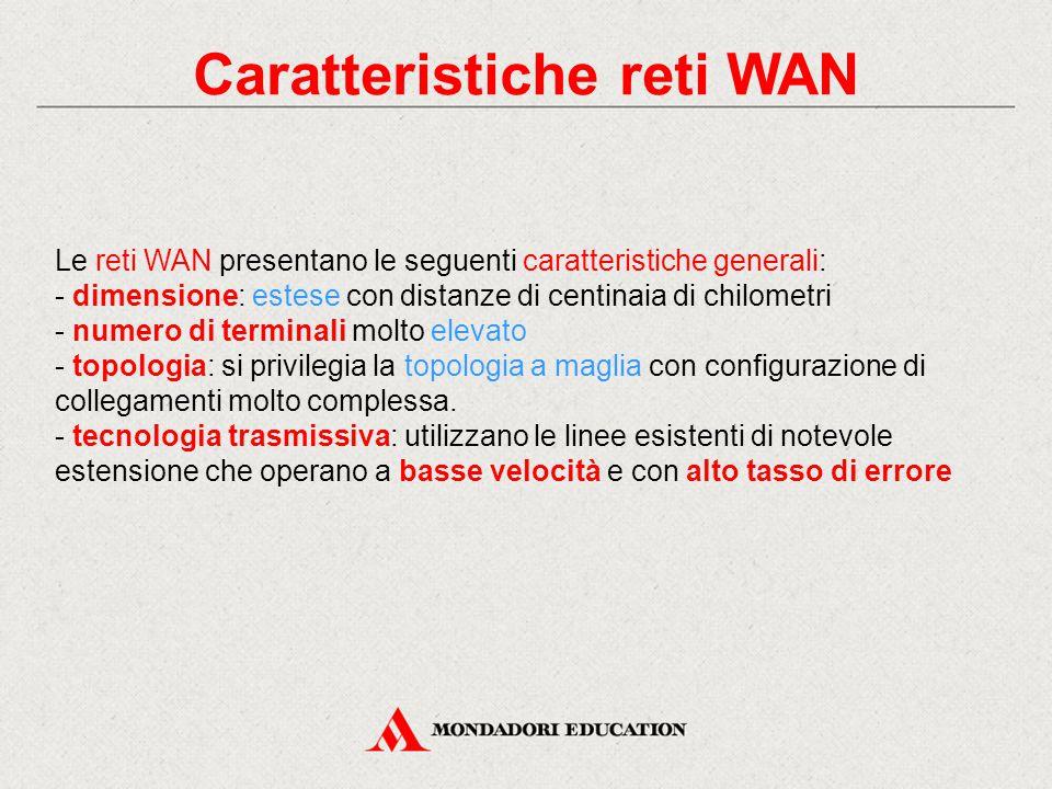 Caratteristiche reti WAN