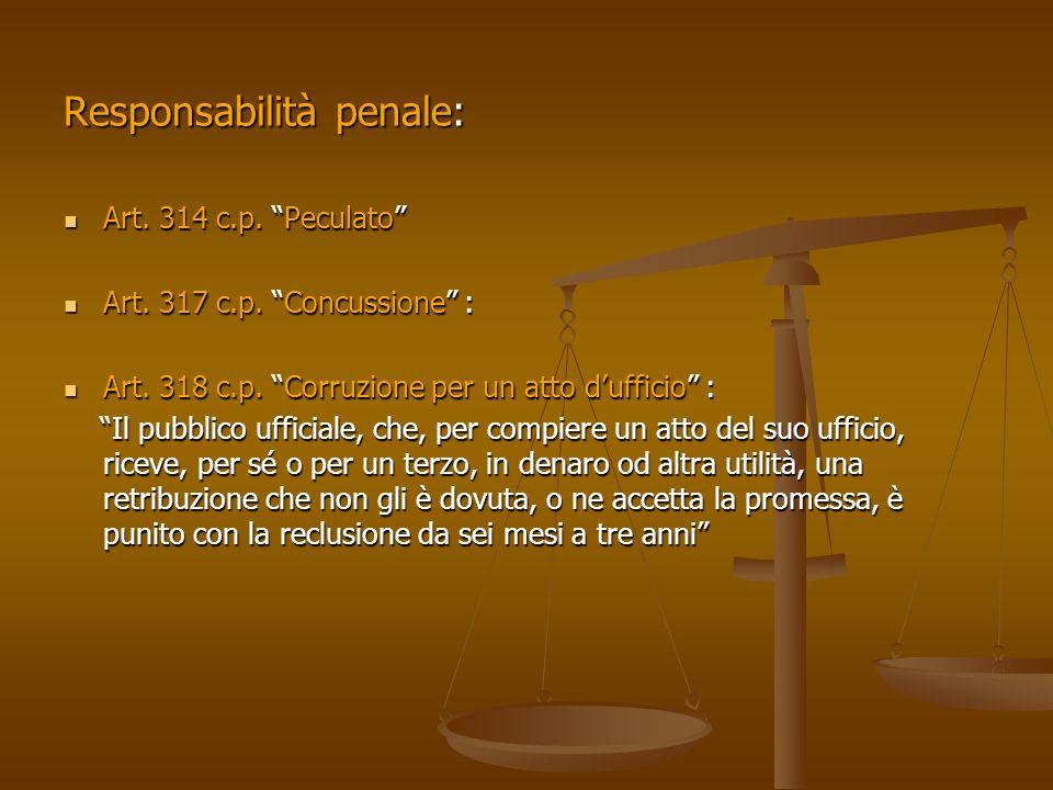 Responsabilità penale: