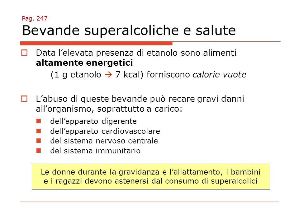 Pag. 247 Bevande superalcoliche e salute