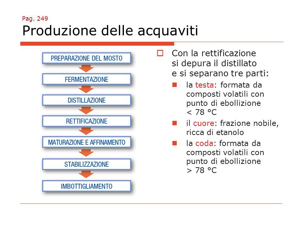 Pag. 249 Produzione delle acquaviti