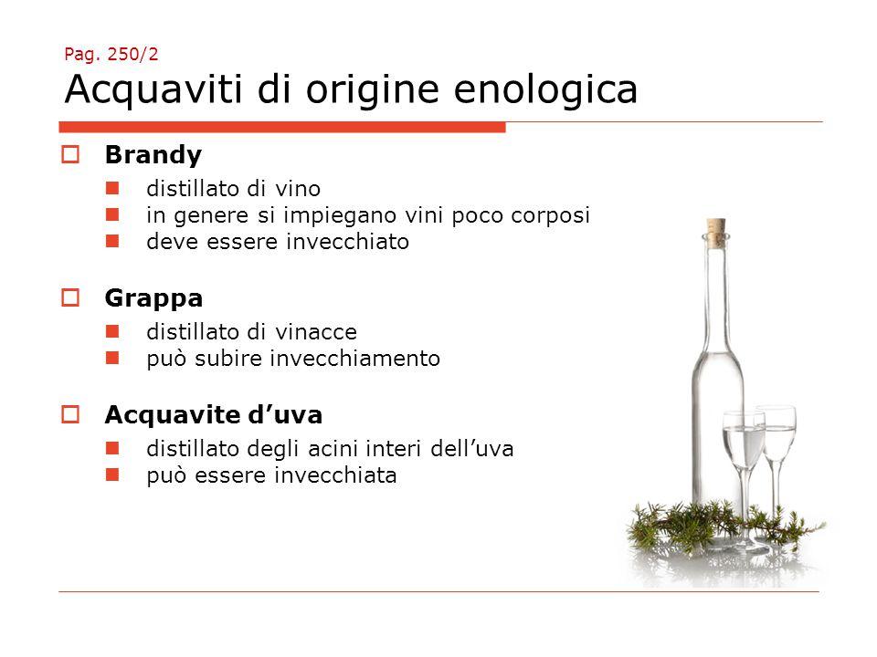 Pag. 250/2 Acquaviti di origine enologica