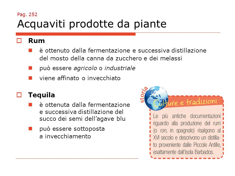 Pag. 252 Acquaviti prodotte da piante