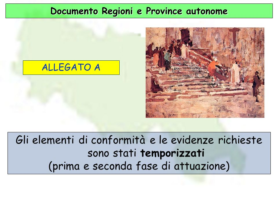 Documento Regioni e Province autonome