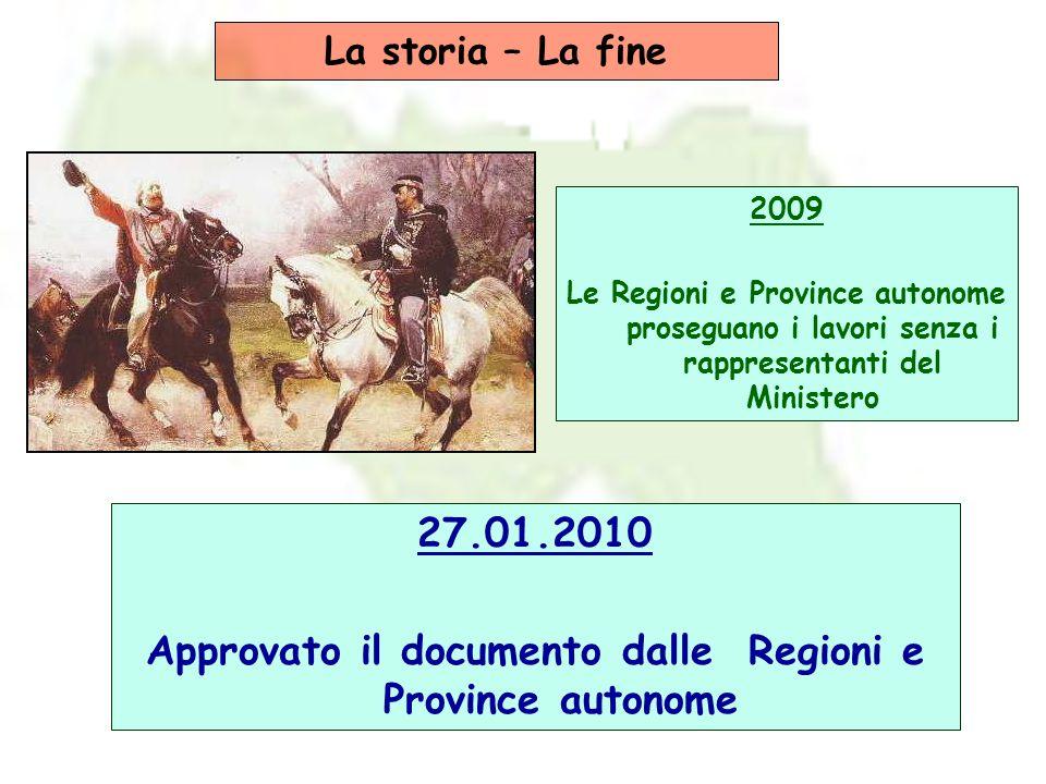Approvato il documento dalle Regioni e Province autonome