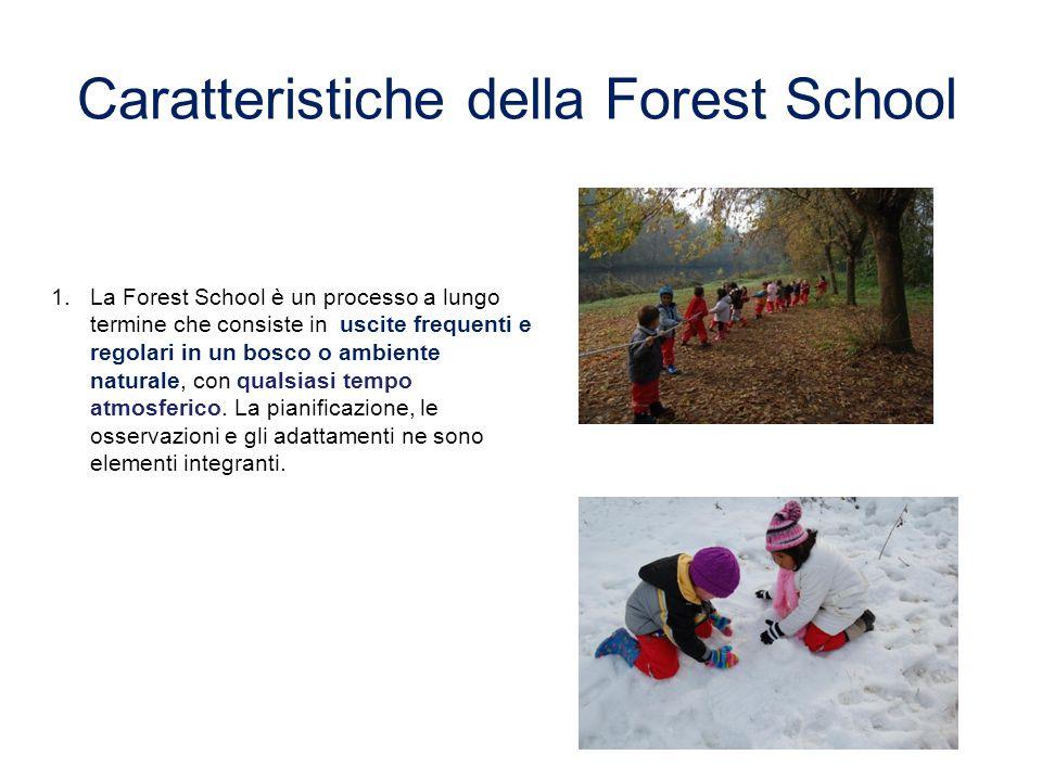 Caratteristiche della Forest School