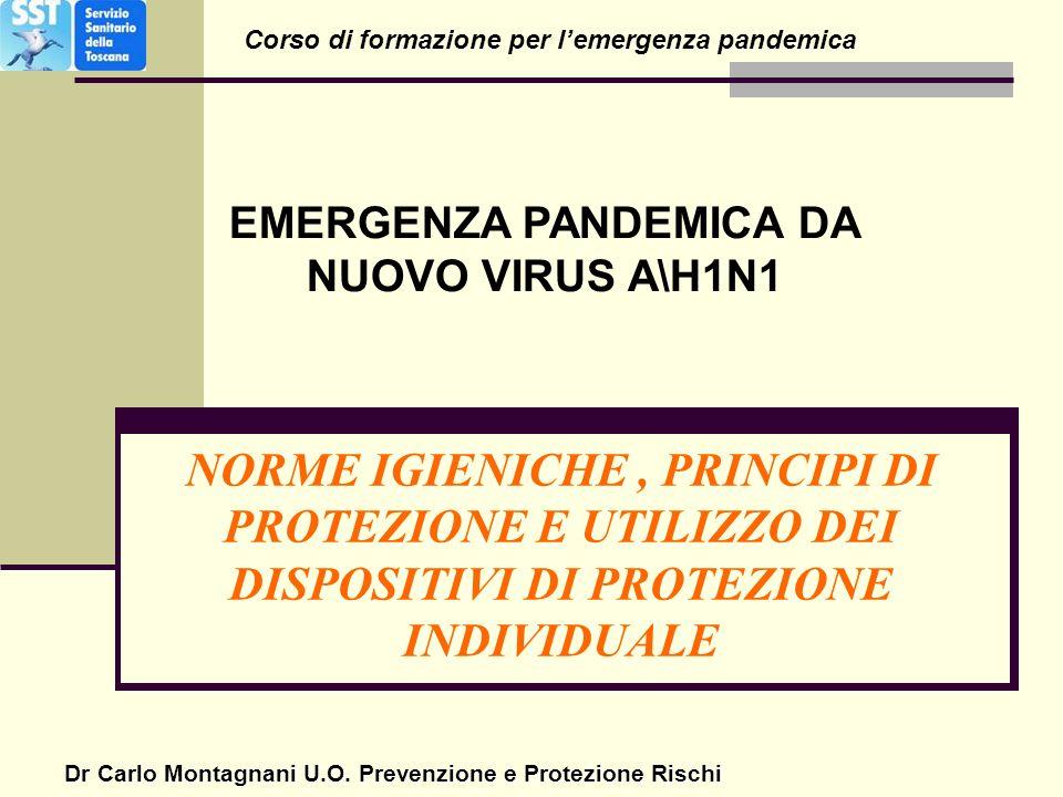 Corso di formazione per l'emergenza pandemica