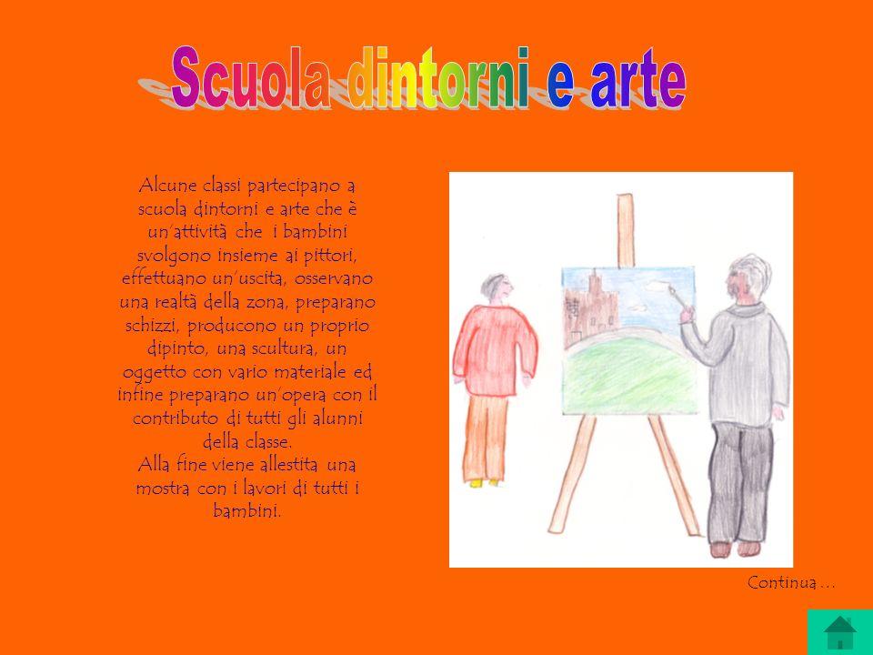 Alla fine viene allestita una mostra con i lavori di tutti i bambini.