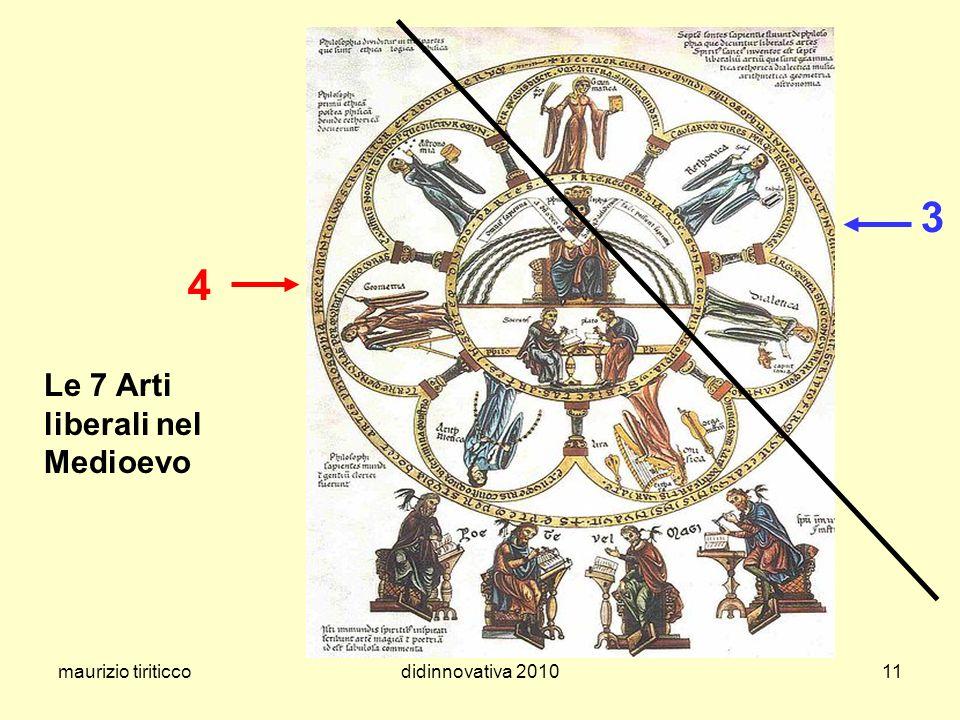 3 4 Le 7 Arti liberali nel Medioevo maurizio tiriticco