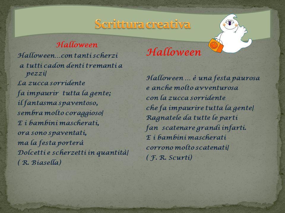 Scrittura creativa Halloween Halloween Halloween…con tanti scherzi