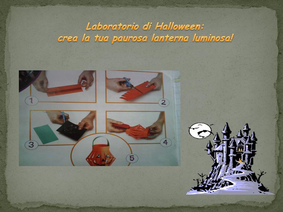 Laboratorio di Halloween: crea la tua paurosa lanterna luminosa!