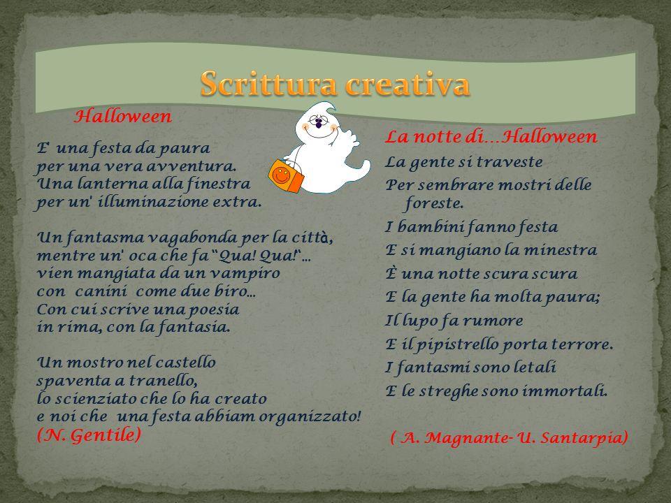 Scrittura creativa Halloween La notte di…Halloween (N. Gentile)