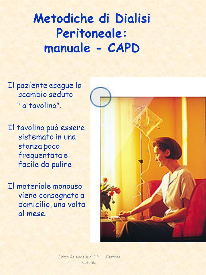Metodiche di Dialisi Peritoneale: manuale - CAPD