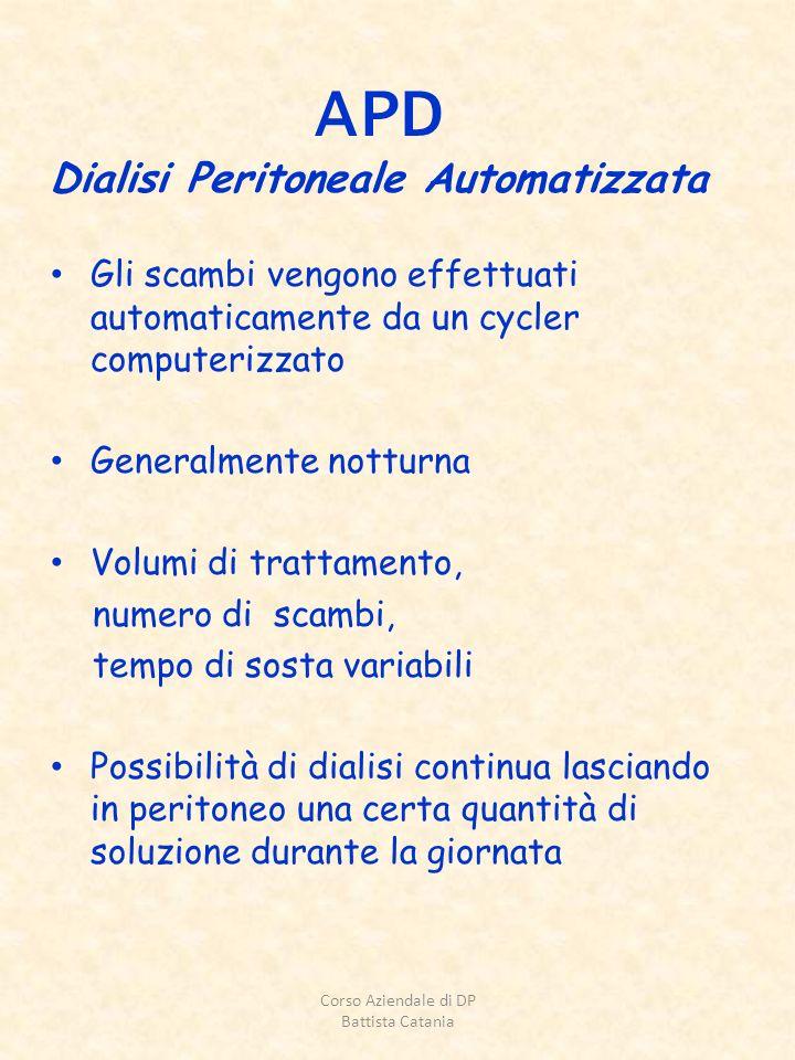 APD Dialisi Peritoneale Automatizzata