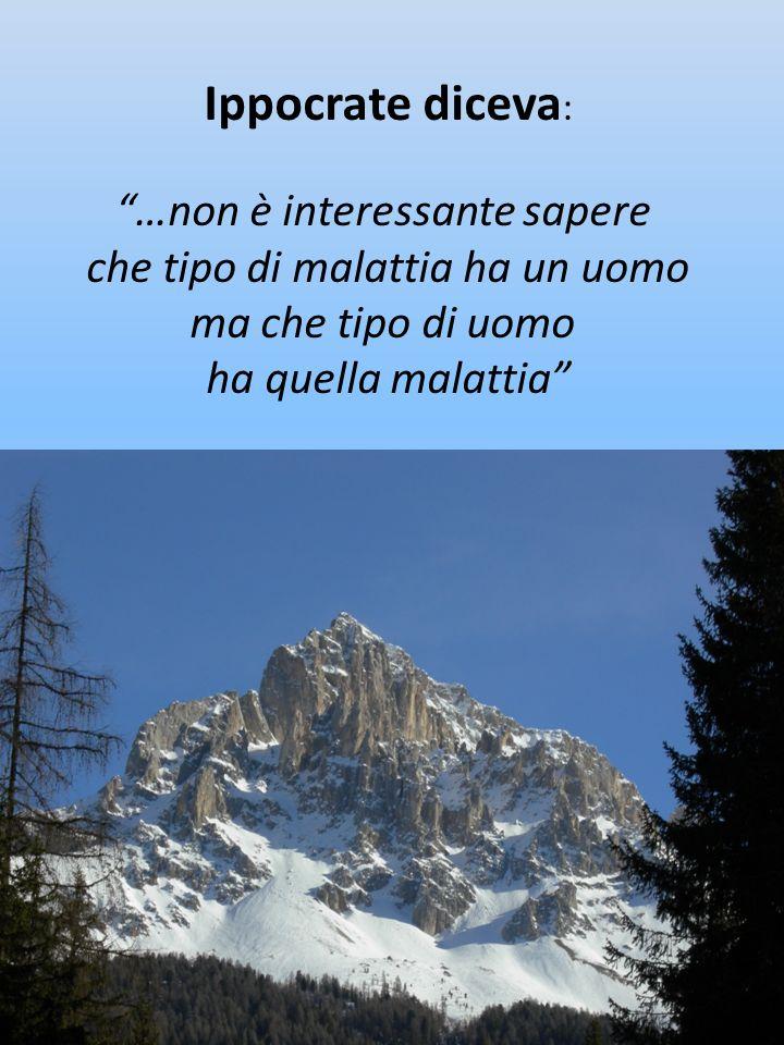 Ippocrate diceva: …non è interessante sapere