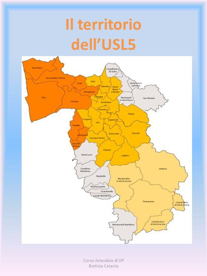 Il territorio dell'USL5