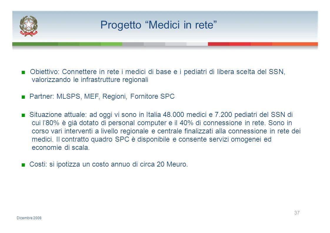 Progetto Medici in rete