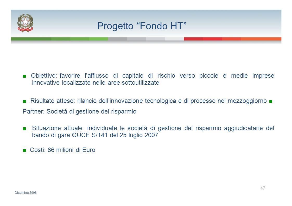 Progetto Fondo HT