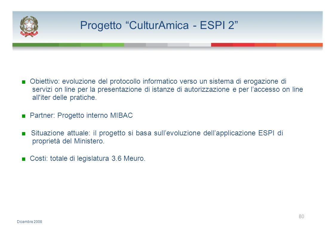 Progetto CulturAmica - ESPI 2
