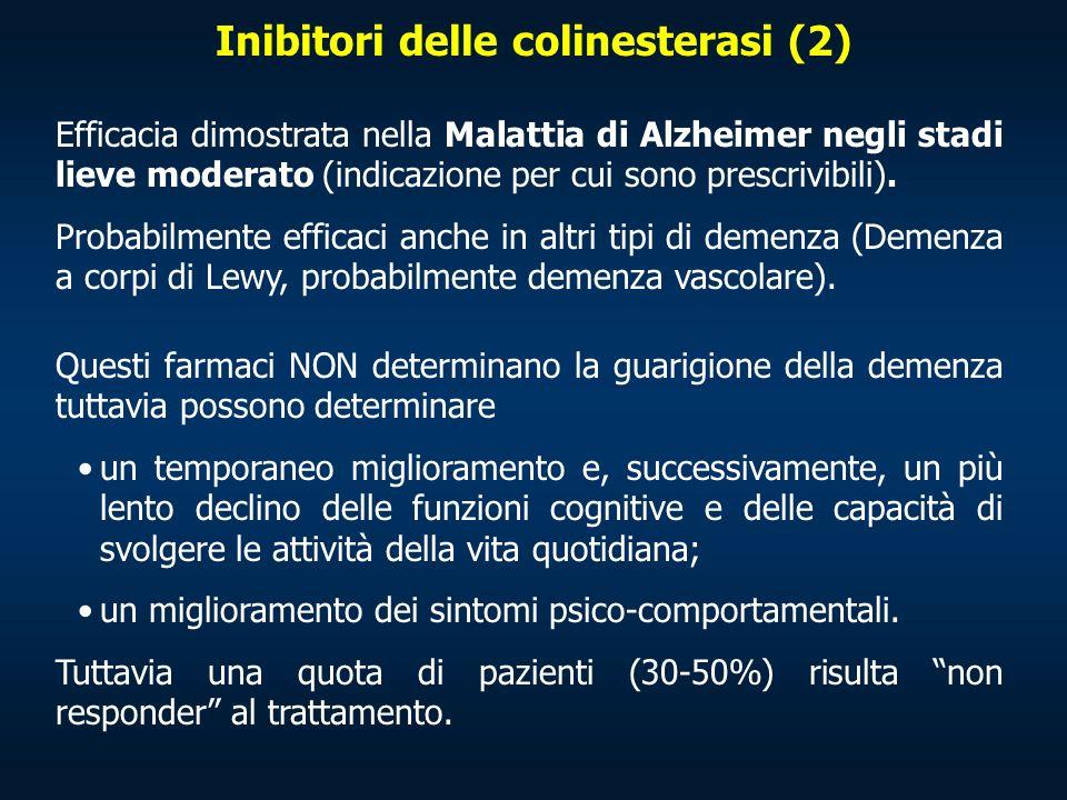 Inibitori delle colinesterasi (2)