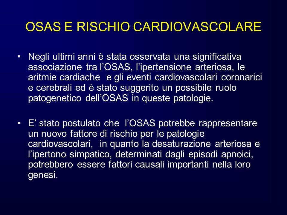 OSAS E RISCHIO CARDIOVASCOLARE