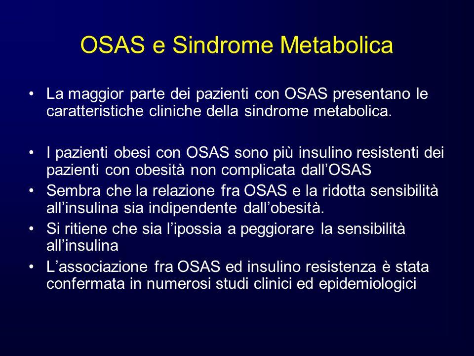 OSAS e Sindrome Metabolica