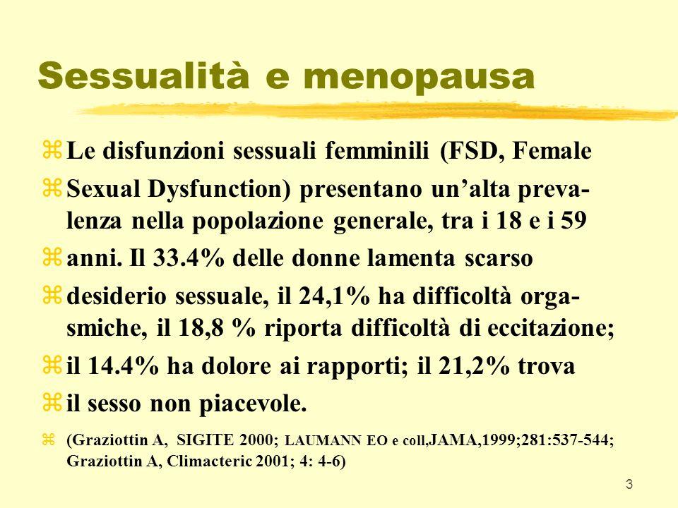 Sessualità e menopausa