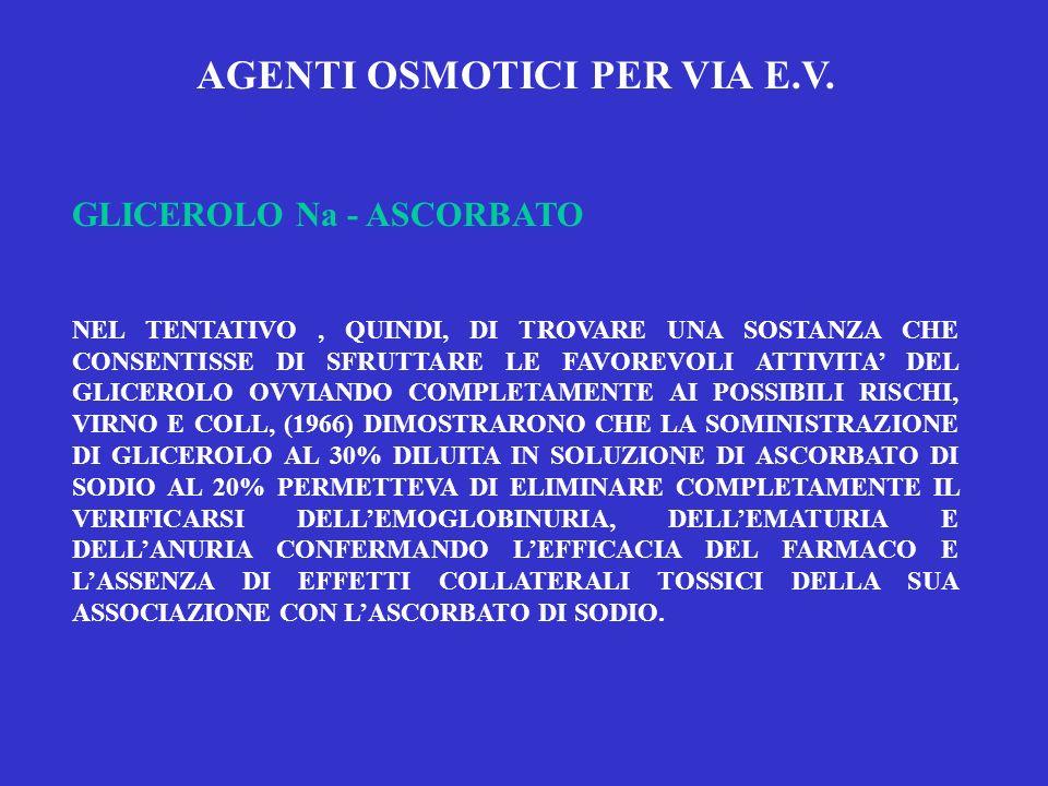 AGENTI OSMOTICI PER VIA E.V.