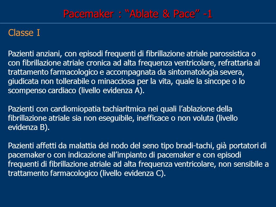 Pacemaker : Ablate & Pace -1