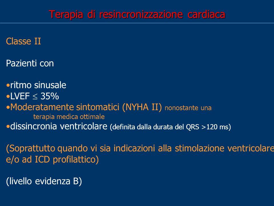 Terapia di resincronizzazione cardiaca