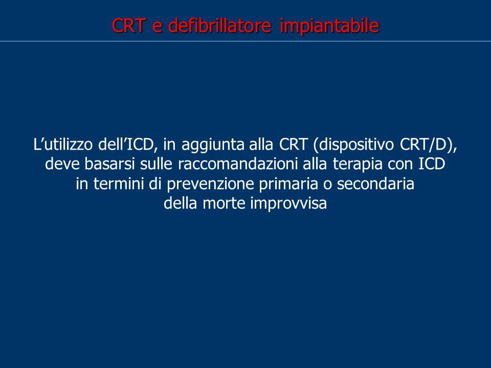 CRT e defibrillatore impiantabile