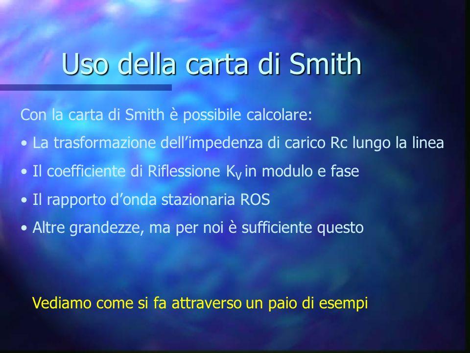 Uso della carta di Smith