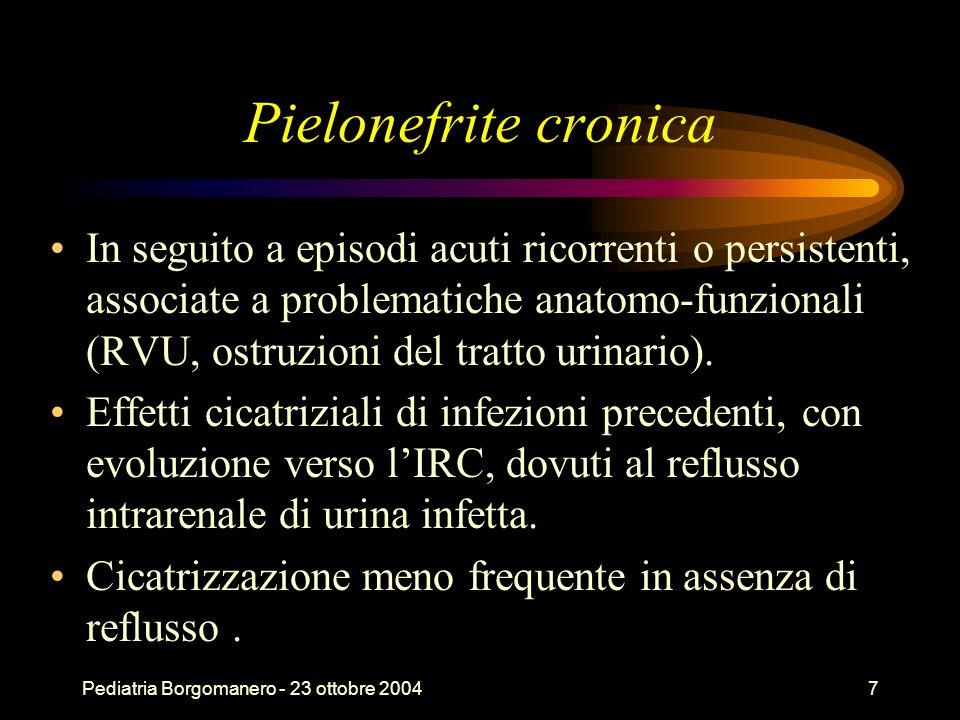Pielonefrite cronica