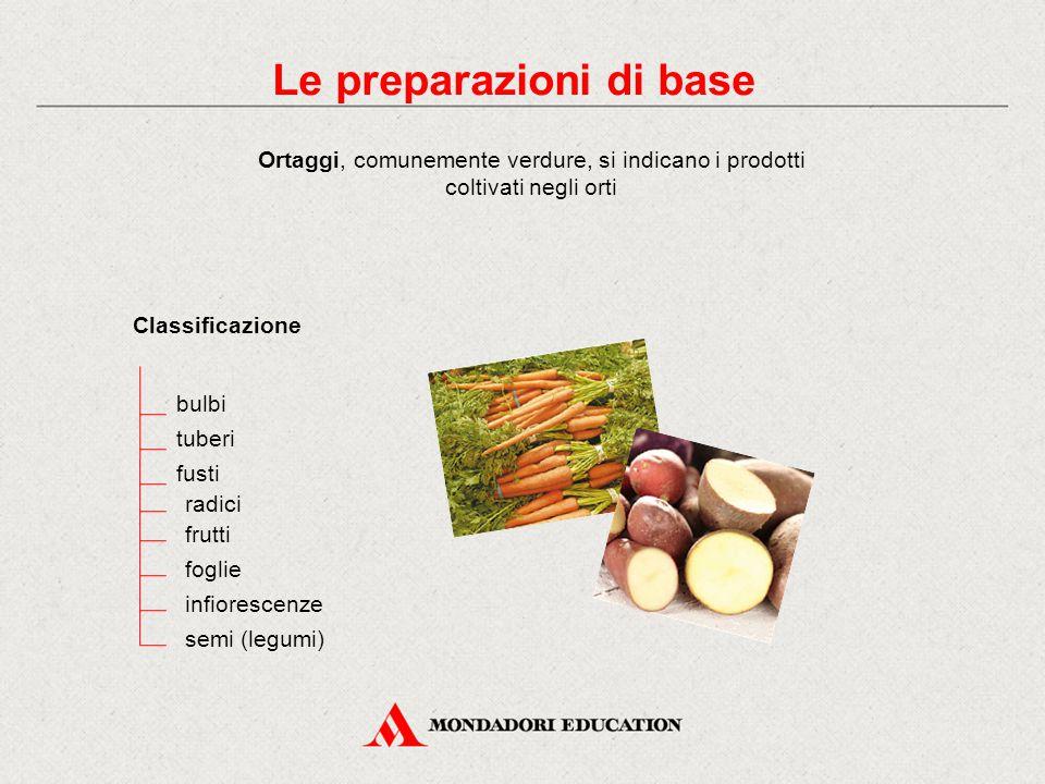Le preparazioni di base