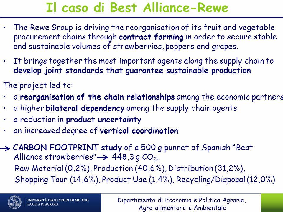 Il caso di Best Alliance-Rewe