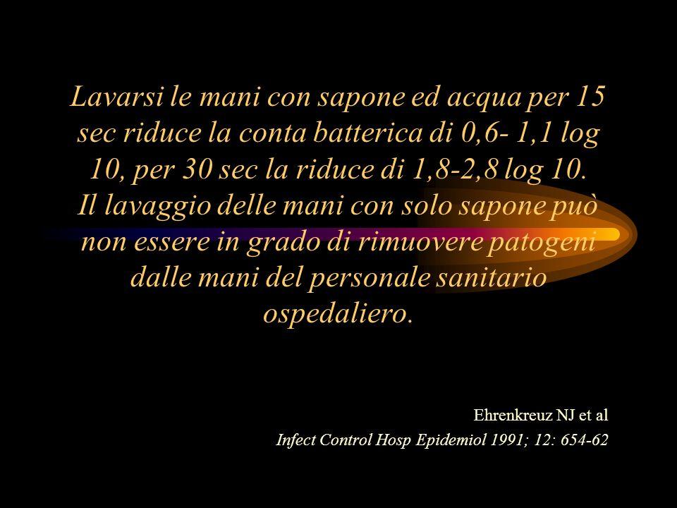 Ehrenkreuz NJ et al Infect Control Hosp Epidemiol 1991; 12: 654-62