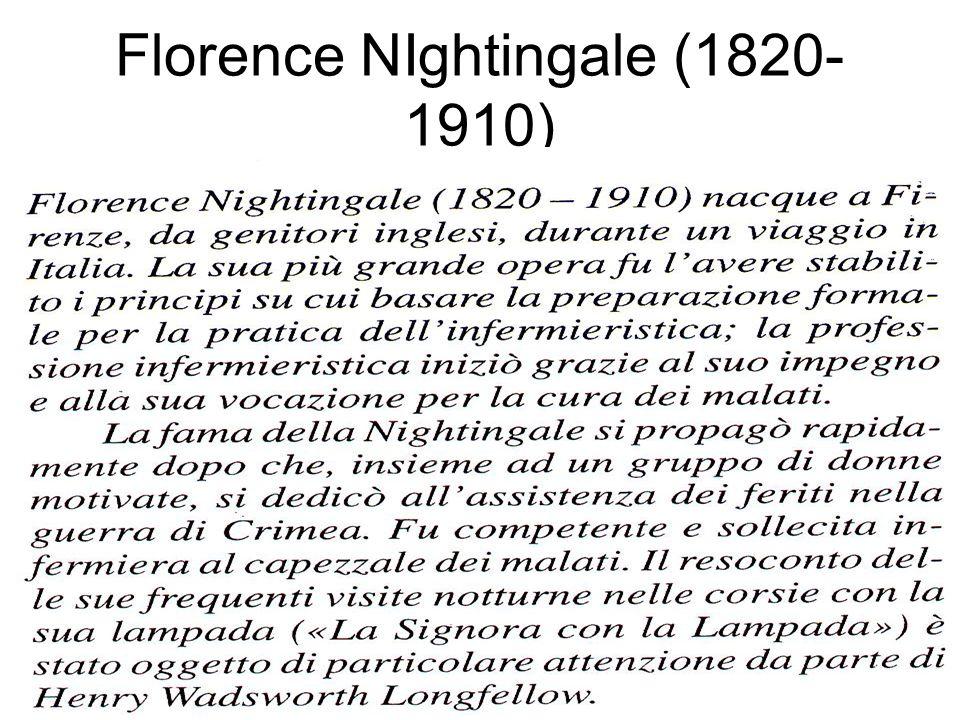 Florence NIghtingale (1820-1910)